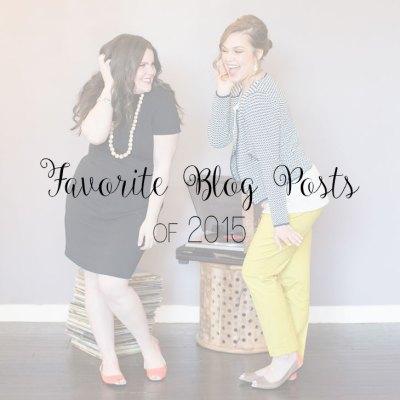 Favorite Money, Recipe, & Other Random Blog Posts of 2015