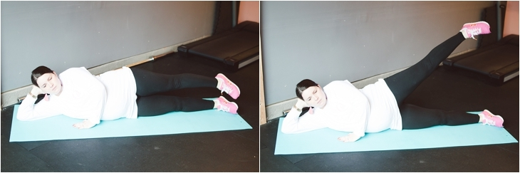"""A Prenatal Workout for the """"Nearly-Immobile"""" Pregnant Woman (or the times when you just can't move...)   Fitness Friday (8)"""
