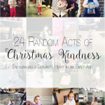 Our 24 Random Acts of Christmas Kindness (a Recap!) & Link-Up
