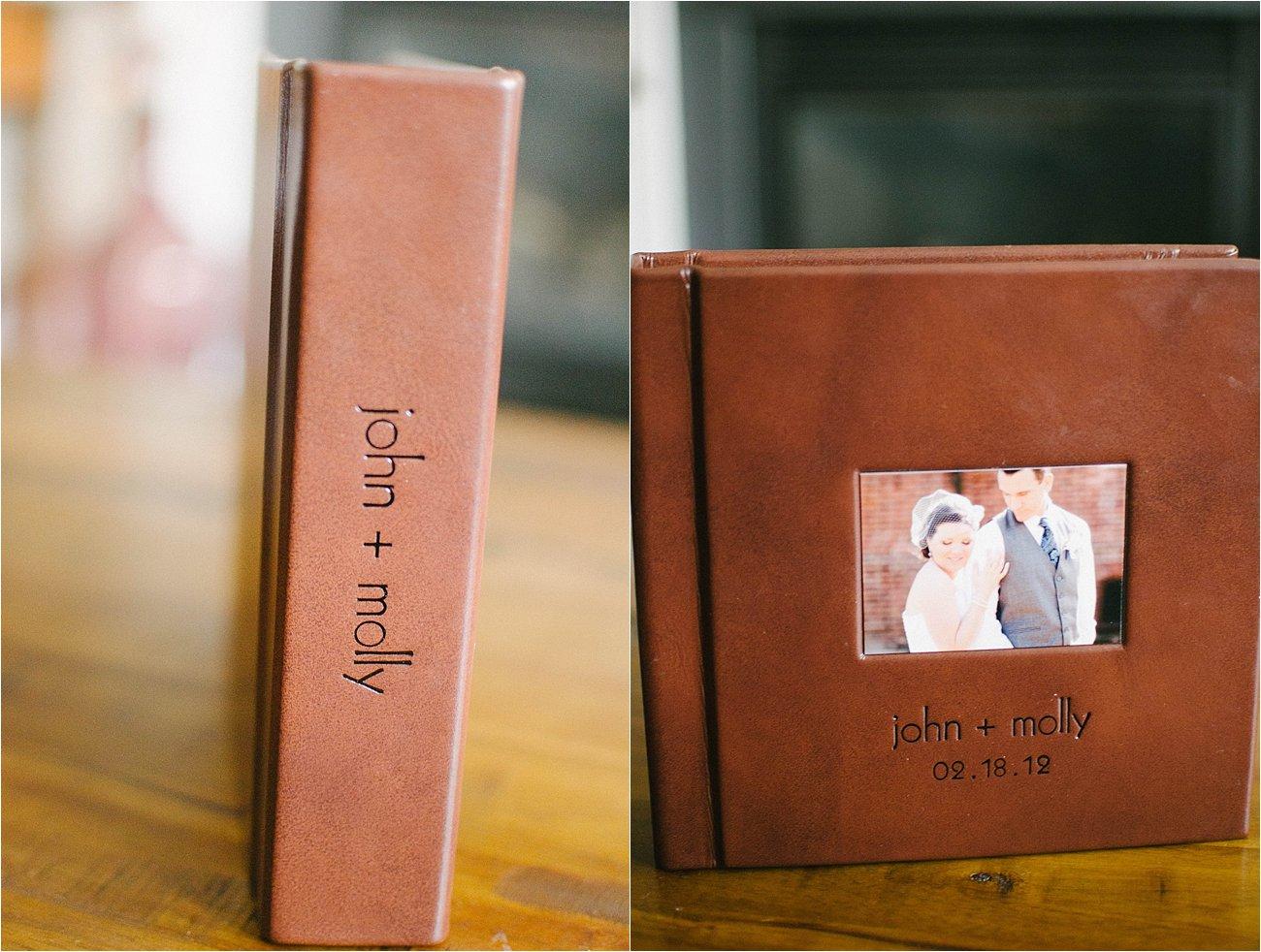 Leather Craftsman Wedding Album 8x8 Review (2)