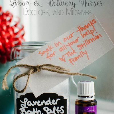 Simple Thank You Gift for Labor & Delivery Nurses, Midwives, and Doctors