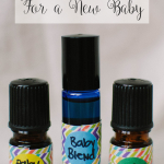 Three Essential Oil Blends for a New Baby