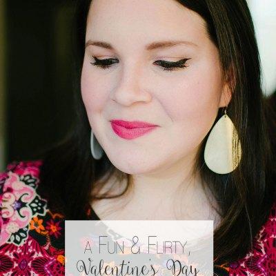 Looks to Love: a Fun & Flirty, Valentine's Day Makeup Tutorial #MNYLooksToLove