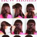 Easy Hairstyle for New Moms | Guest Post by Natalia from Ma Nouvelle Mode