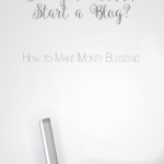 """How to Make Money Blogging 