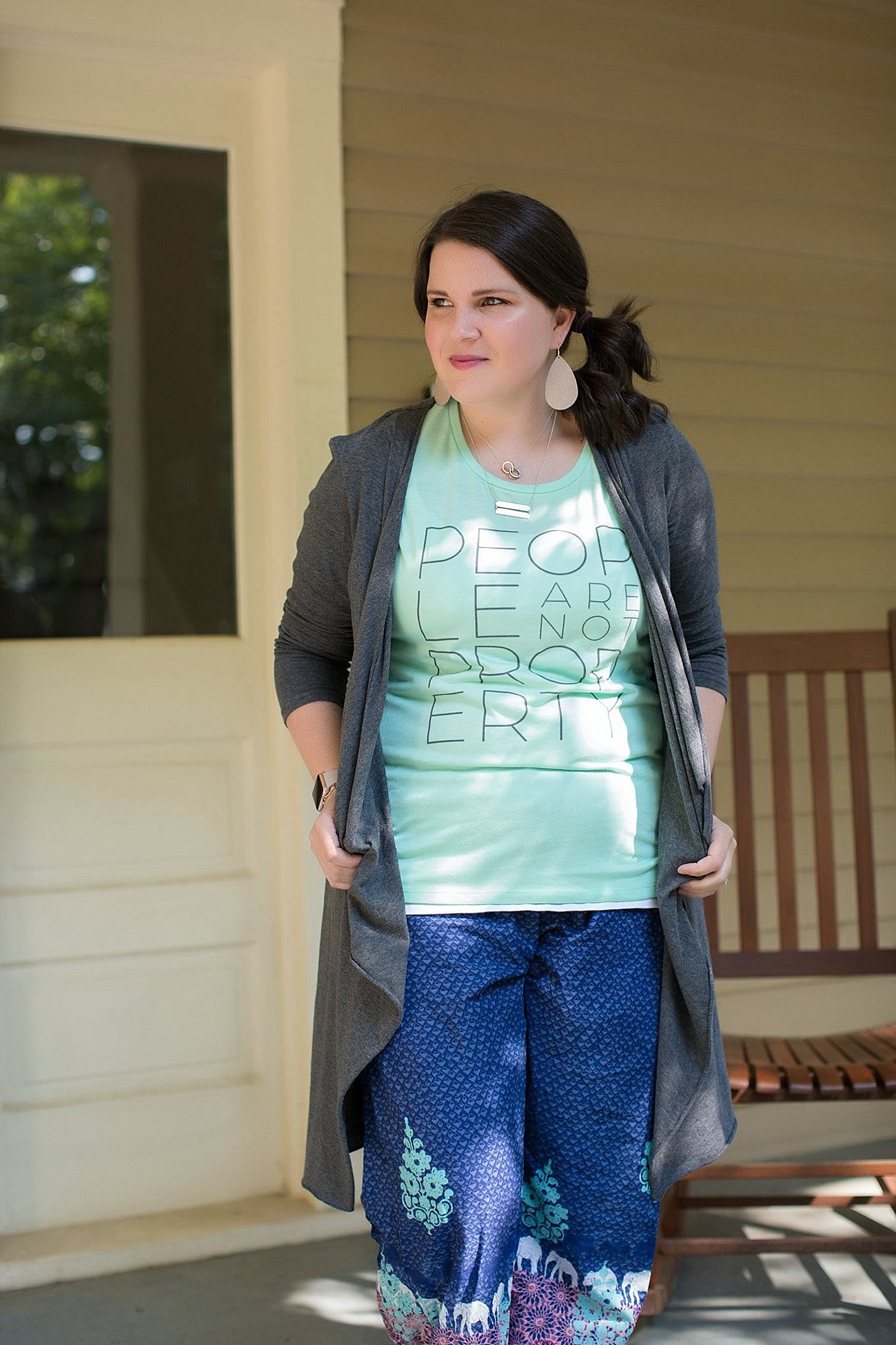 Sudara Goods Punjammmies & People are Not Property Tee | Ethical Fashion & Style Blogger (6)