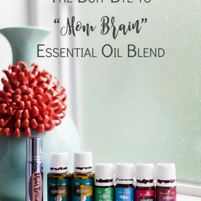 "DIY ""Buh-Bye to Mom Brain"" Essential Oil Blend"