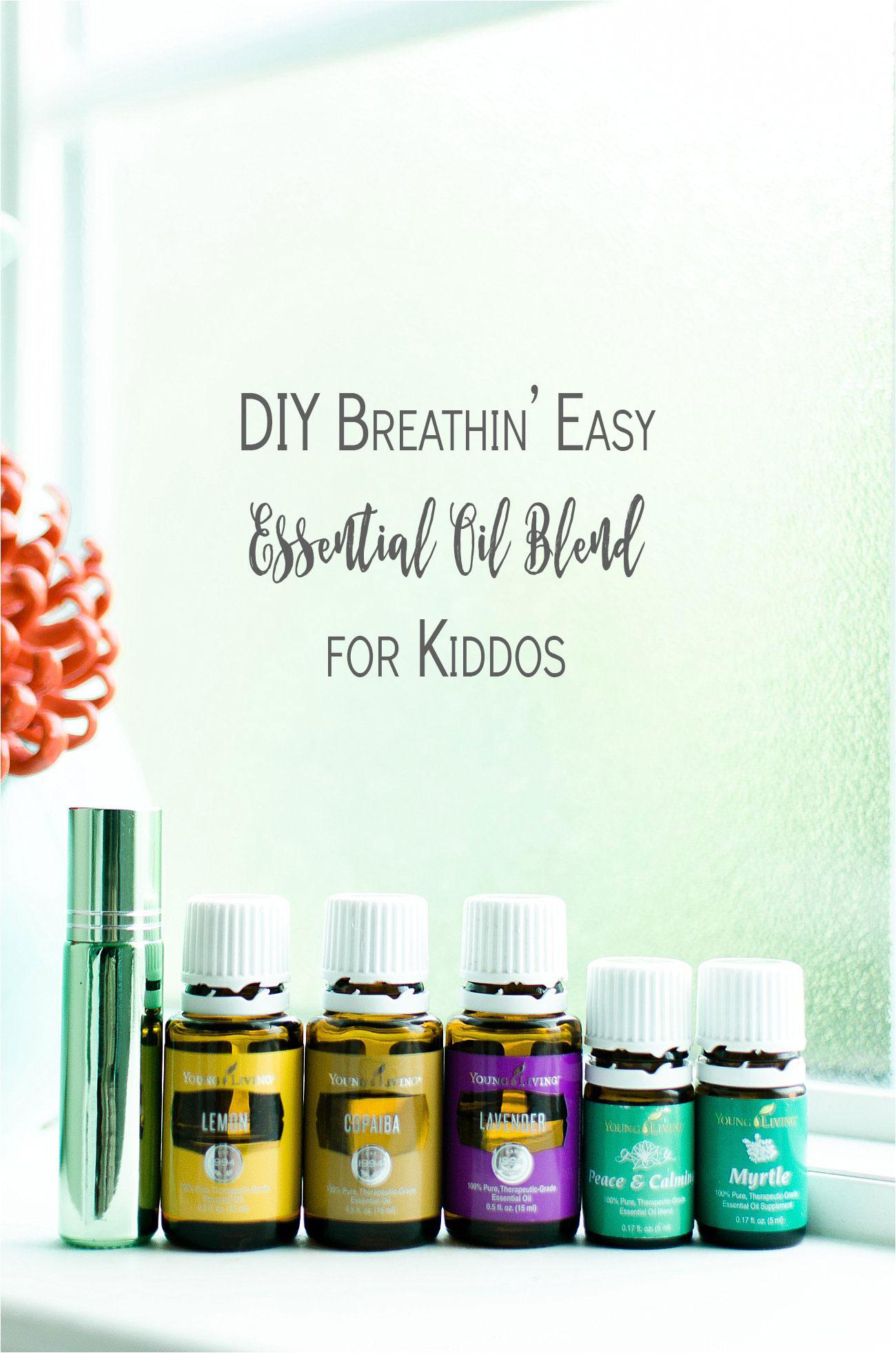 "Back to School Recipe | DIY ""Breathin' Easy"" Essential Oil Blend for Kiddos (3)"
