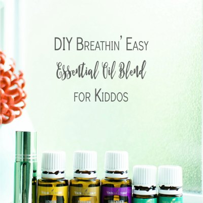 "Back to School Recipe | DIY ""Breathin' Easy"" Essential Oil Blend for Kiddos"