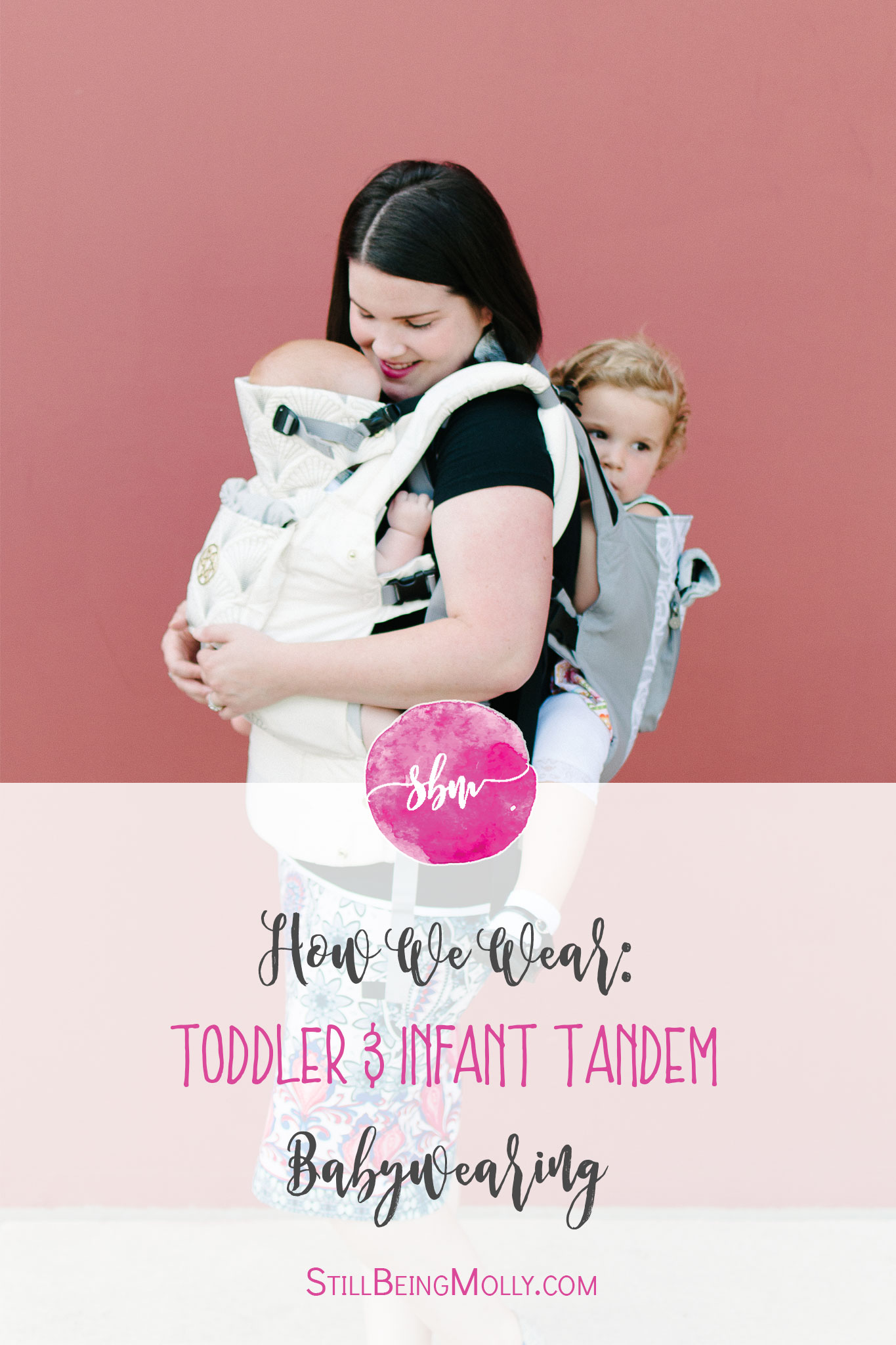 with Lillebaby Complete & CarryOn Baby Carriers #babywearing #tandemwearing #toddlerwearing (1)