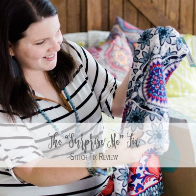 """The """"Surprise Me"""" Fix Where I Nearly Kept it All   Stitch Fix Review"""
