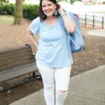 Game Day Inspired Style | Carolina Blue