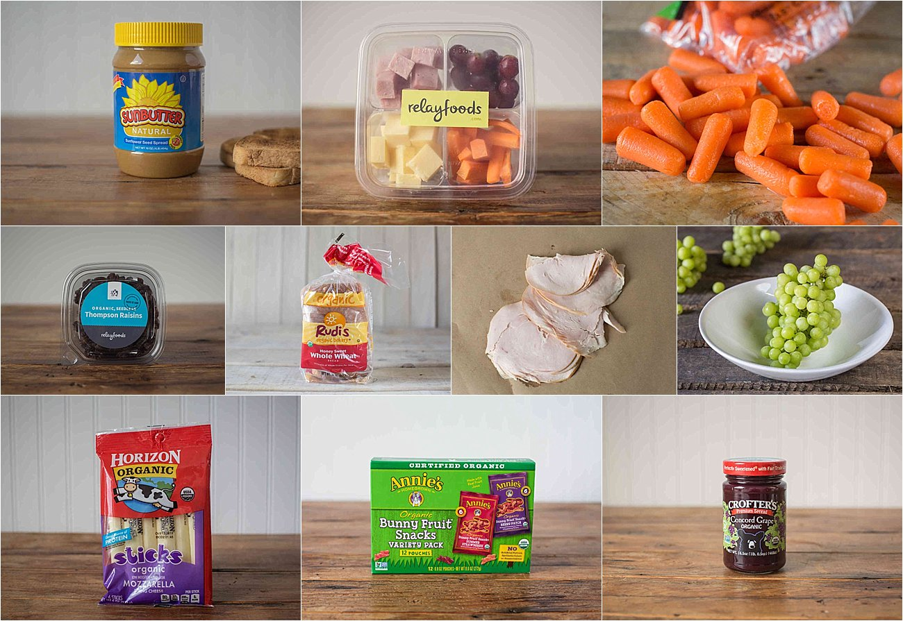 Healthy Toddler Lunch Ideas (Nut Allergy Free!) with Relay Foods