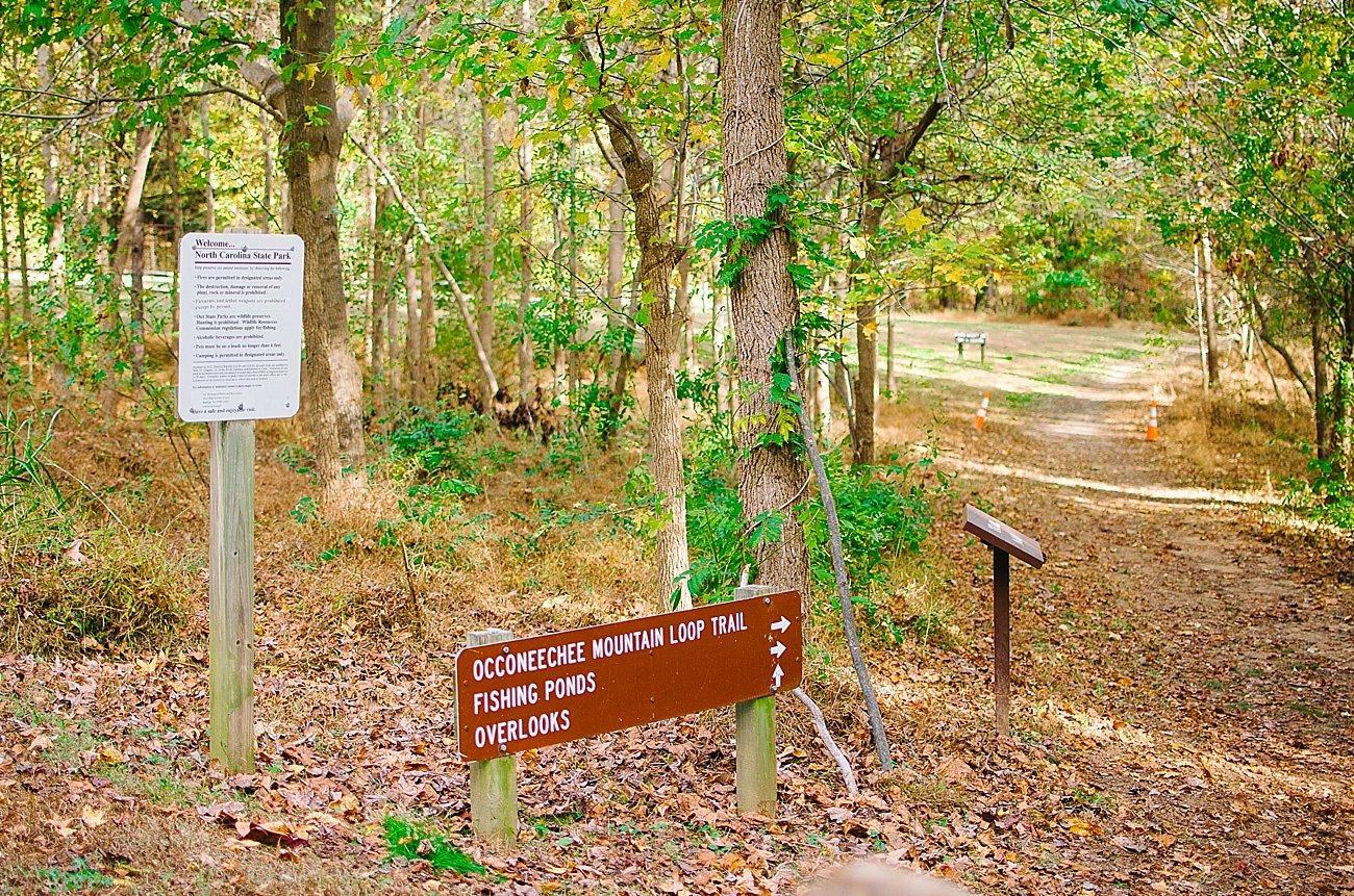 GoHikeNC Occoneechee Mountain Hillsborough Easy, Moderate, Difficult Family Hike (6)
