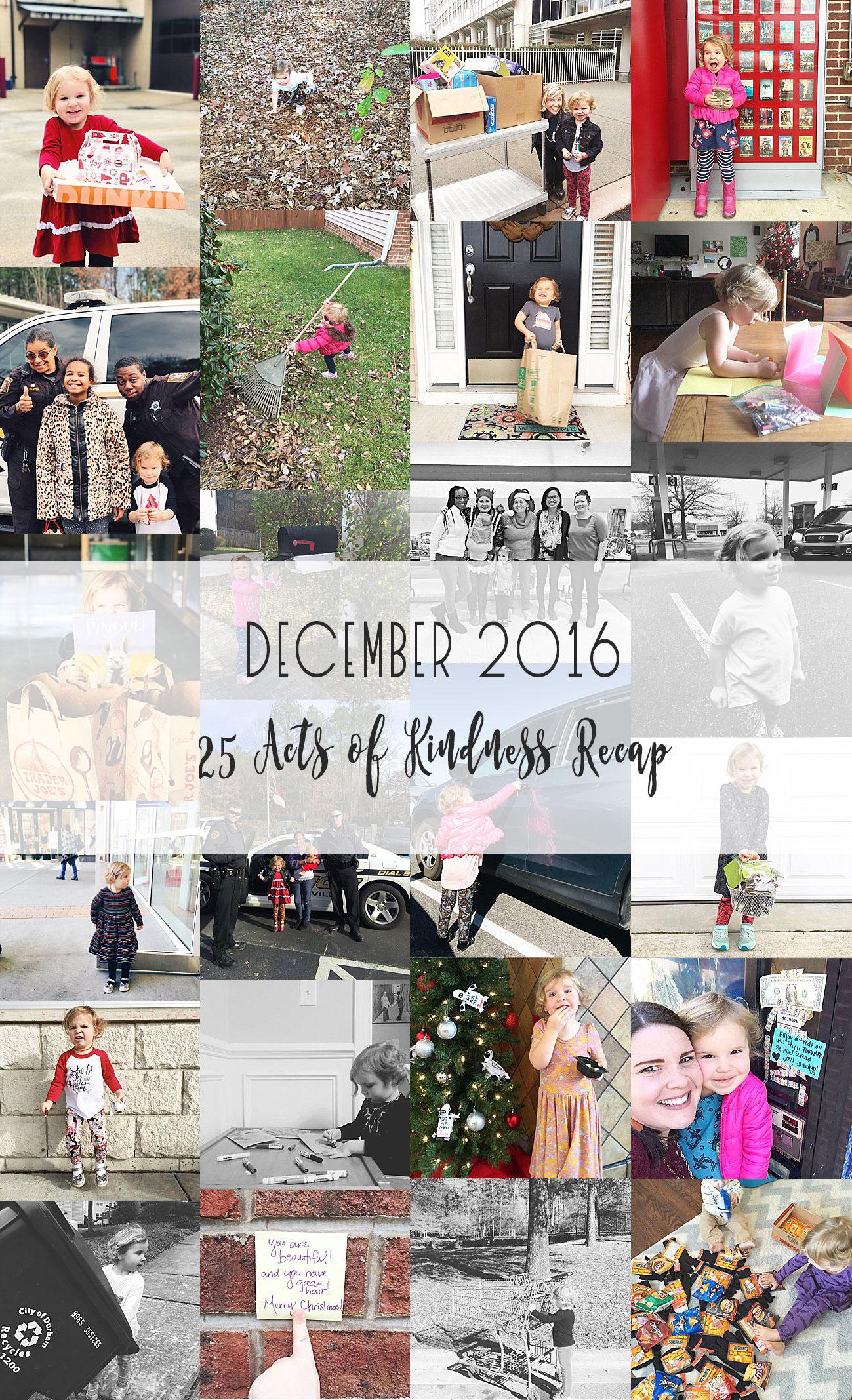 25 Random Acts of Christmas Kindness - Kindness Advent 2016 | Recap #trikind25 #kindnessadvent #25daysofkindness (27)