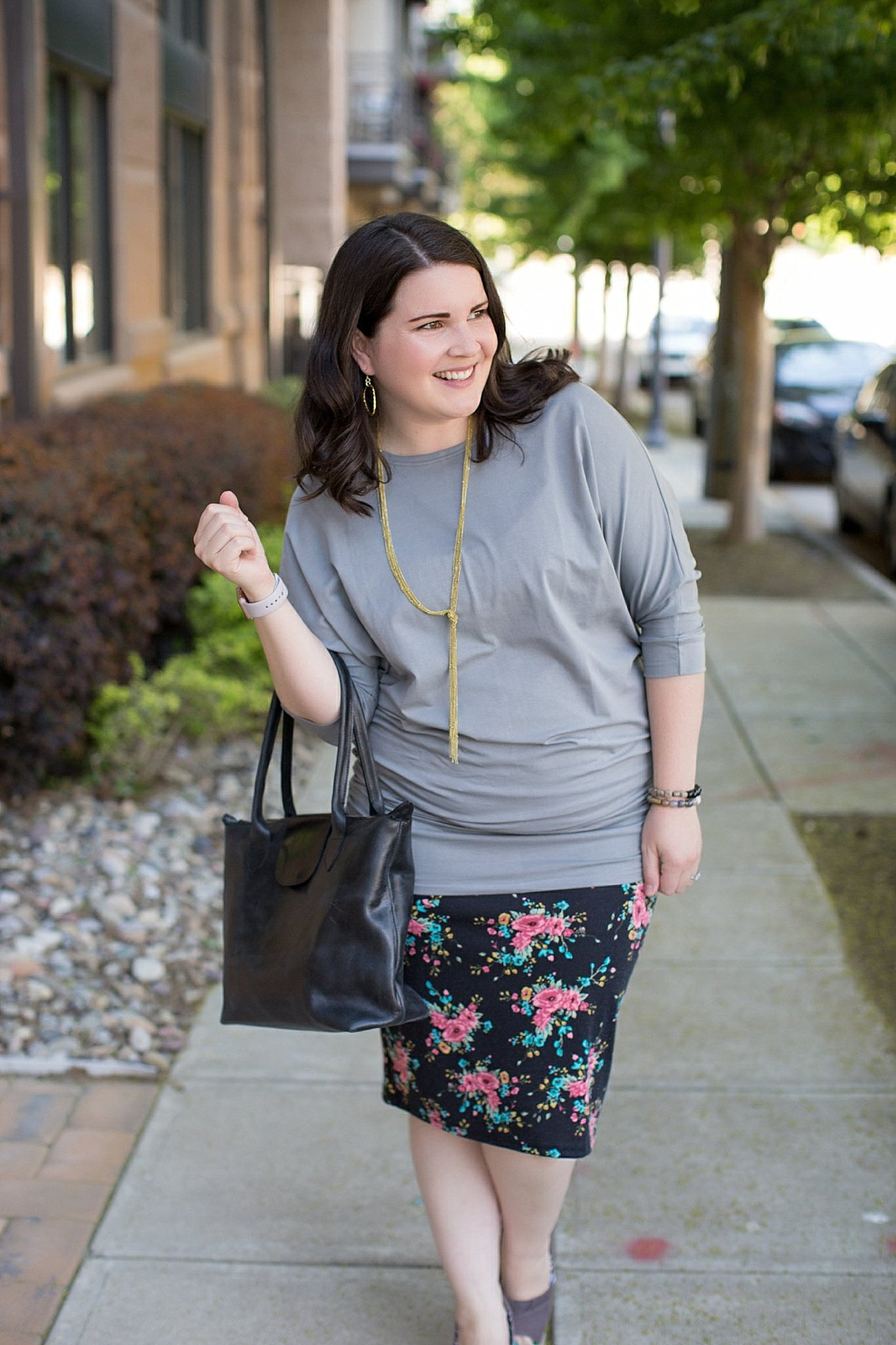 How to Dress Up a Basic Tunic by ethical fashion blogger Still Being Molly