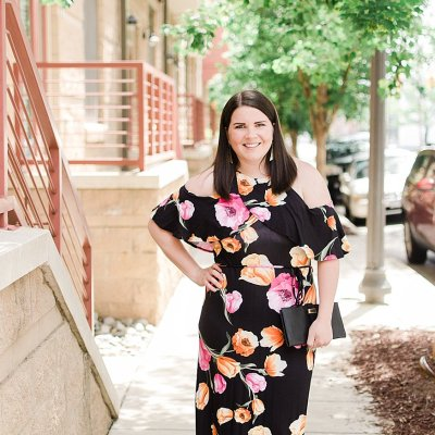 Ethical Fashion Trends - Cold Shoulder Floral Maxi Dress (1)