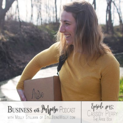 EP 45: Cassidy Perry, Founder of The Arise Box