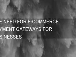 E-commerce Payment gateways