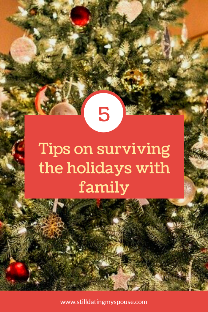 Stress, family and the holidays: Tips on surviving