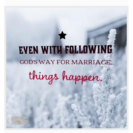 Marriage as God designed