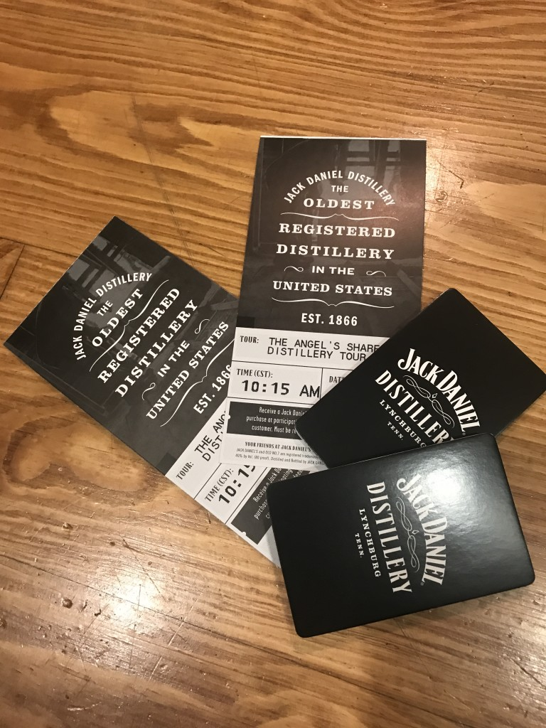 Jack Daniels Tour Tickets