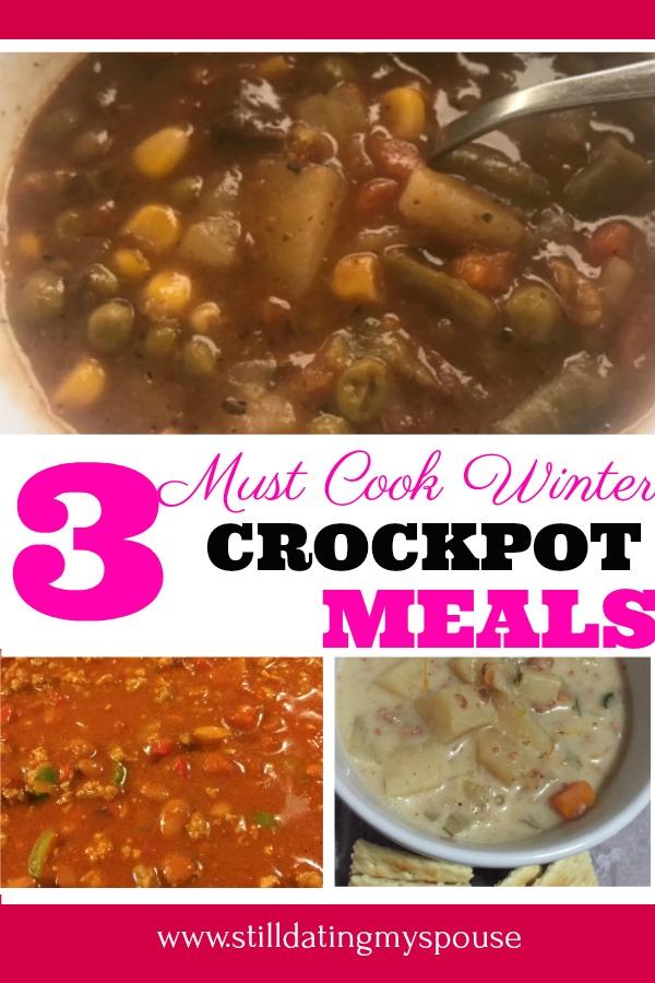 Must Cook Crockpot Meals