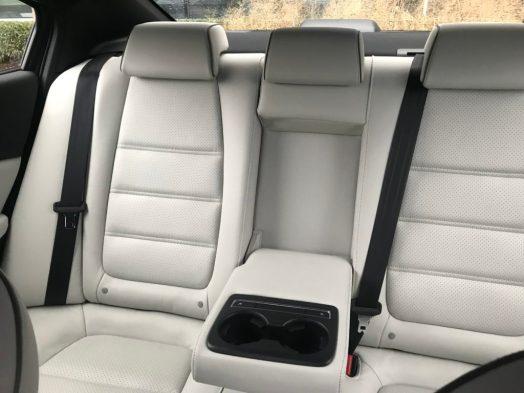 Mazda heated backseat