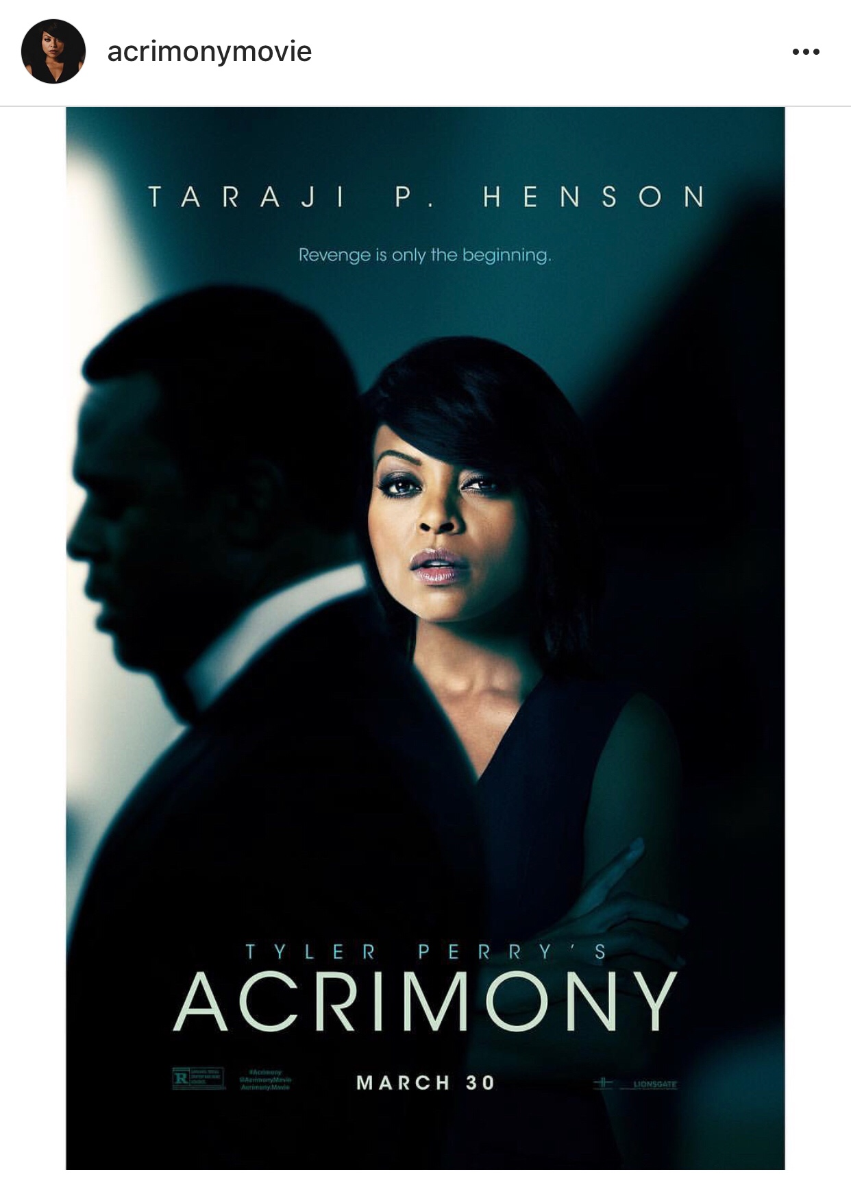 Acrimony movie review