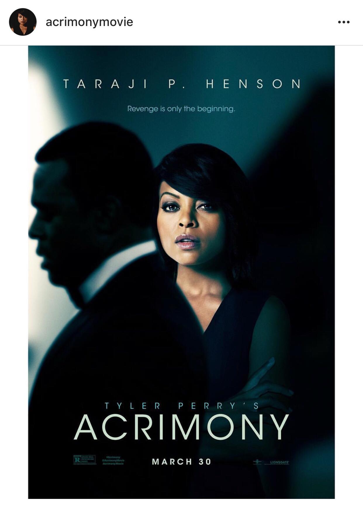 Acrimony movie review