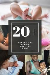 Freebooks nähen für das Baby