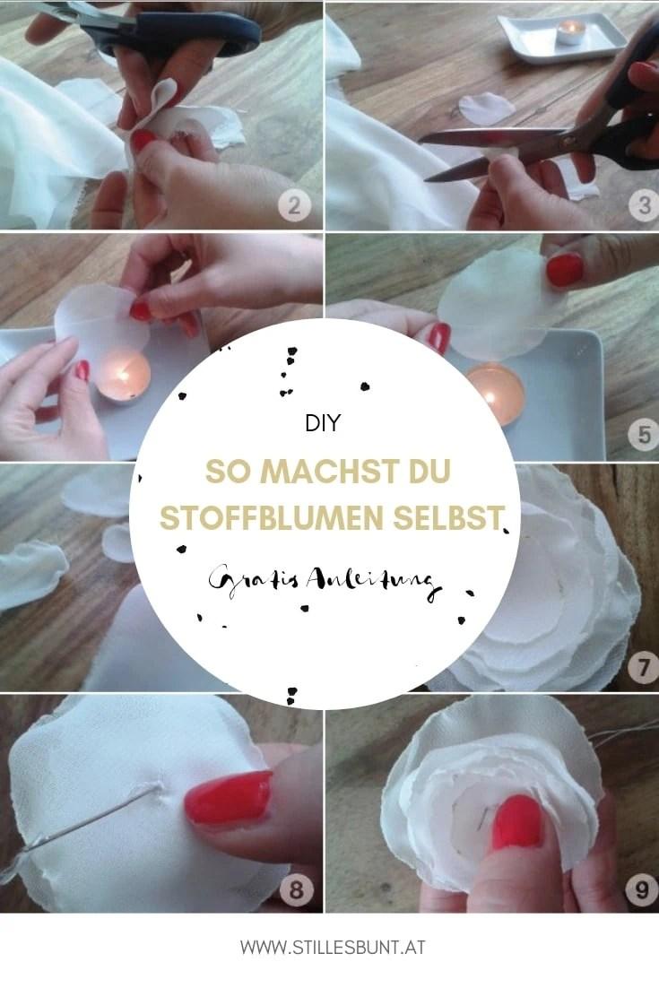 DIY Stoffblume
