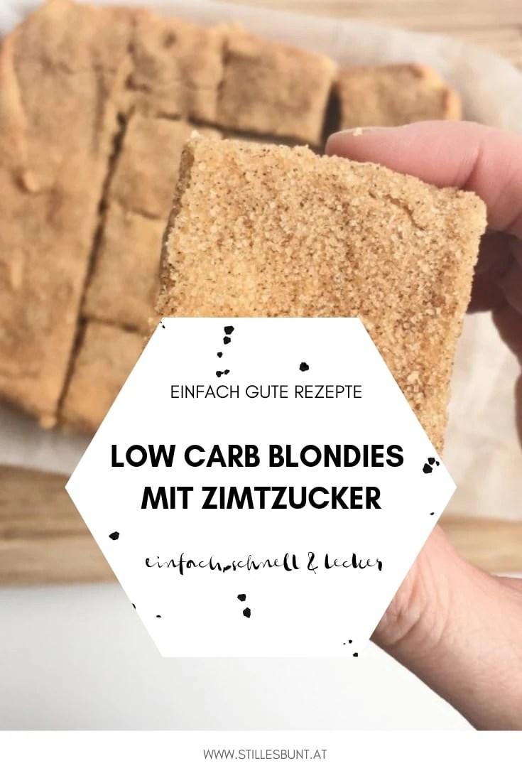 Low Carb Blondies