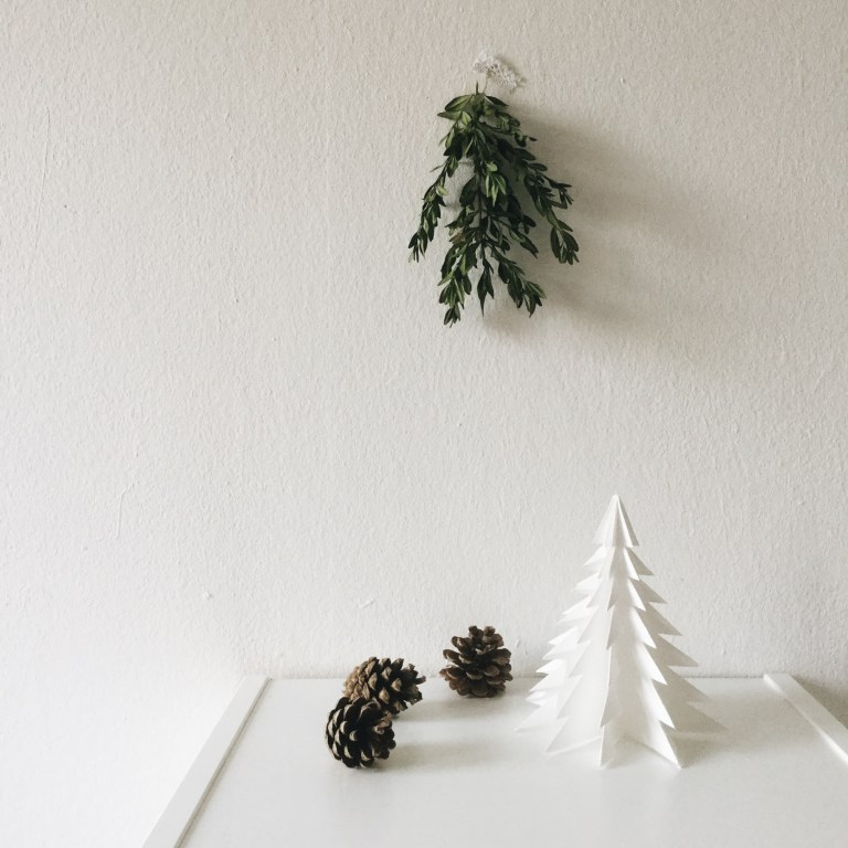 Origami Christbaum DIY Deko