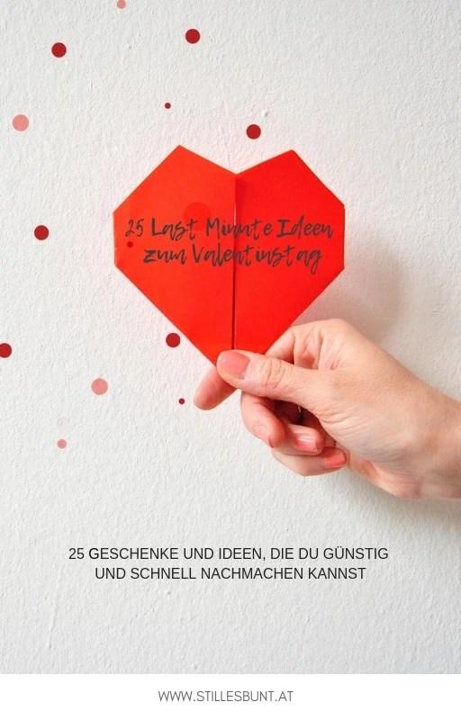 25 Last Minute Ideen und Geschenke für den Valentinstag