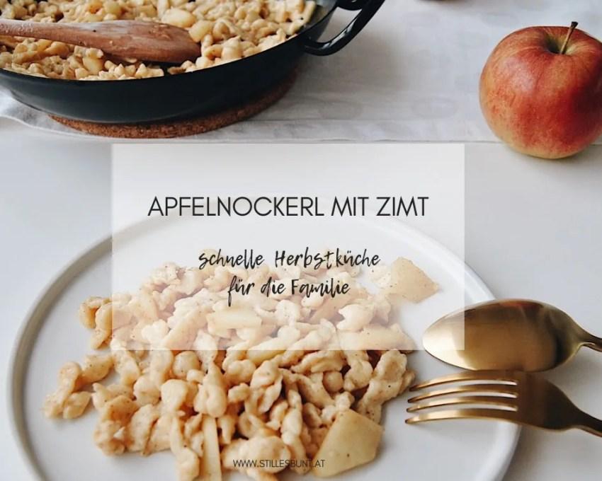 Apfelnockerl mit Zimt Rezept