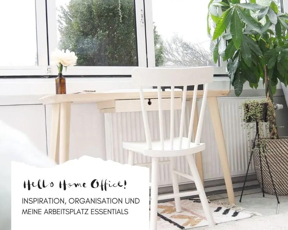 Home Office Schreibtisch skandinavisch