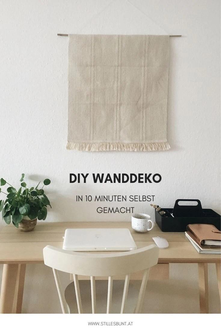 DIY WALL HANGING WANDTEPPICH WANDDEKO