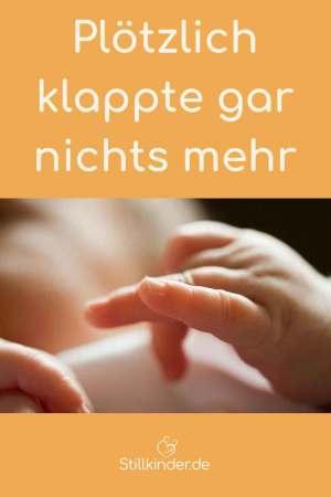 Eine Babyhand