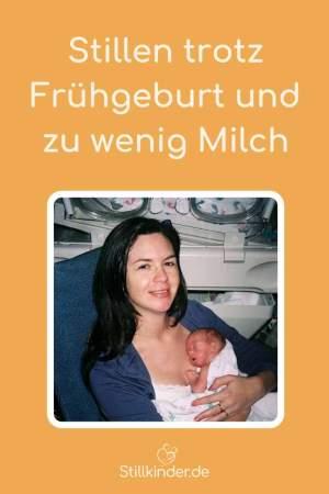 Mama mit Frühgeborenem