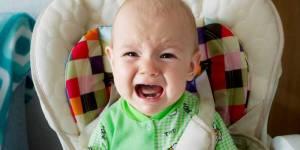 Wenn das Baby nicht mehr im Hochstuhl sitzen will