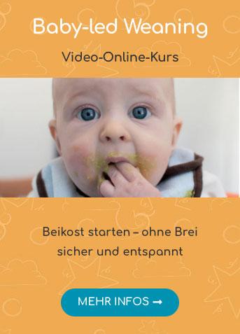 Mehr Infos zum Online-Kurs Baby-led Weaning