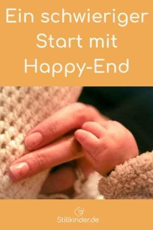 Mutterhand und Babyhand