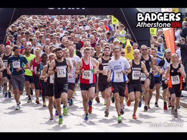 28 Aug 2016 – Badgers Atherstone 10k