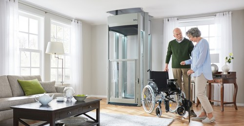 small resolution of the trio alta home elevator is our innovative wheelchair elevator and is perfect for the less mobile larger than the duo alta home elevator but still
