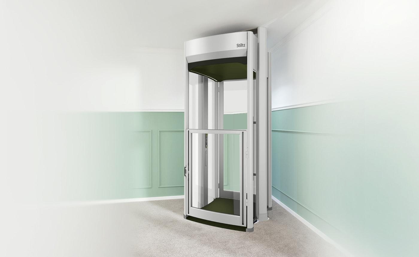hight resolution of stiltz trio wheelchair elevator
