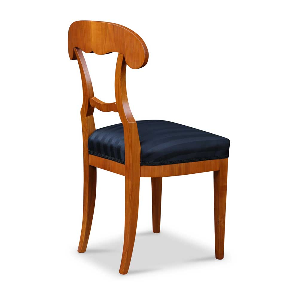 Biedermeier Stuhl mit Schaufel Lehne