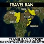 """[미국 시사] 미 대법원, """"반미 성향 8개 나라 국적 및 여행자 미국 입국 금지 행정명령은 합법"""""""