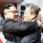 [시사] 문재인 대통령 극비 방북(판문점 북측 통일각) 김정은 만나