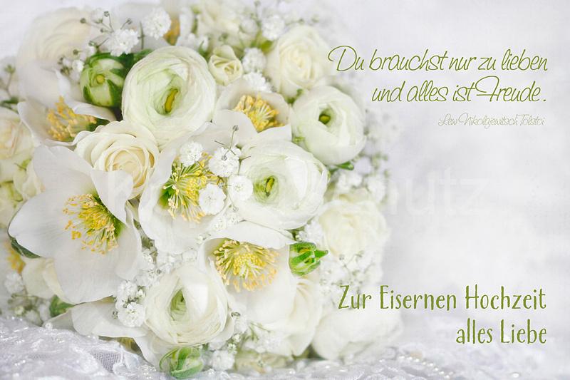 Eiserne Hochzeit weier Strauss  wwwStimmungsBilderde